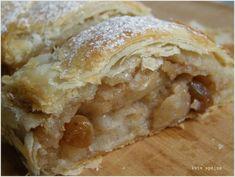 Gyors almás rétes Apple Pie, Cake, Desserts, Food, Tailgate Desserts, Apple Cobbler, Deserts, Food Cakes, Eten