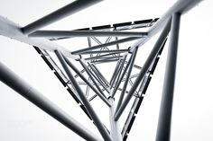technology abstract  structure - technology abstract metal structure