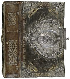Band van zwartbruin kalfsleer, 1830-1850. Inhoud: Andachtsübungen eines wahren Christen. München, bey Joh. Bapt. Oettl, [ca. 1850?].
