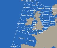 The Shipping Forecast - poetic rhythm. The names are both magical and familiar. BBC Radio 4 0048 and 0520. Very comforting.