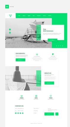 Techoners Website UI Design on Behance