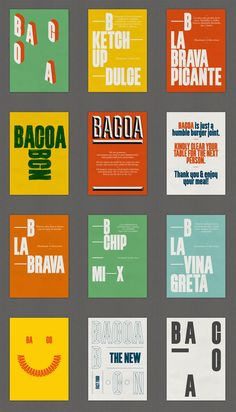 New Logo and Identity for Bacoa by TwoPoints.Net
