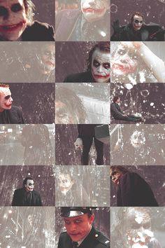 I love the Joker. Heath Ledger Joker Quotes, Joker Heath, Joker Ledger, Joker Dark Knight, The Dark Knight Trilogy, Der Joker, Joker Art, Dibujos Toy Story, Batman Quotes