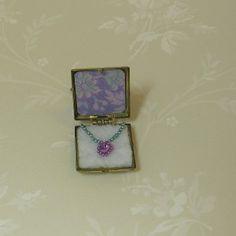 dollhouse miniature jewelry boxes | Miniature Dollhouse...