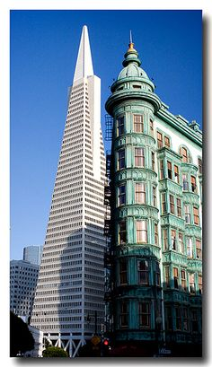 San Francisco Landmarks by Steve Rosenbach, via Flickr