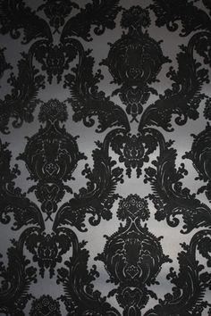 Complete your home or office with designer wallpaper from DesignYourWall. We can even print custom wallpaper for you too! Flock Wallpaper, Damask Wallpaper, Custom Wallpaper, Designer Wallpaper, Wallpaper Backgrounds, Iphone Wallpaper, Wallpapers, Accent Wallpaper, Velvet Wallpaper