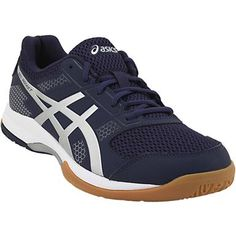 Asics Gel Rocket 8 Volleyball Shoes - Mens Black Black White