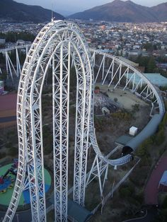 Ride every scary roller coaster at every amusement park! Scary Roller Coasters, Roller Coaster Ride, Ju Jitsu, Amusement Park Rides, Asia, Water Slides, Travel And Leisure, Japan Travel, Places To See