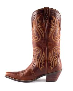 Ariat Women's Heritage Western X Toe Boot - Vintage Caramel... practical me LOVES these. Finally got them for my birthday!