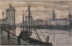 Bernard Buffet's La Rochelle