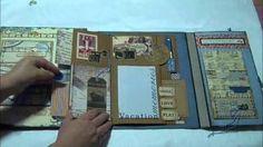 Tim Holtz folio - YouTube