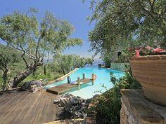 Spartylas villa rental - Jetty in Early Summer