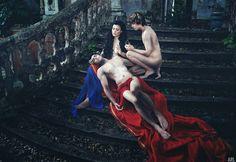 Fotografia de Ary Regis, da série 'O jardim dos sentidos'