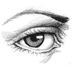 Sketch eye image by madi_brown on Photobucket