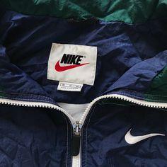 kept in super. Vintage Nike Windbreaker, Windbreaker Jacket, Jackets Online, Nike Jacket, Medium, Things To Sell, Fashion, Clothes, Moda