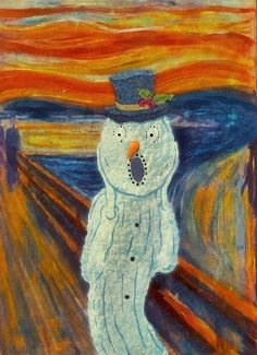 'The Scream' Parody