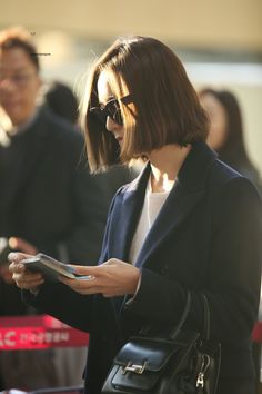 Krystal @ Gimpo Airport (to Japan for an Event)