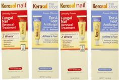Kerasal complete care 2 in 1 nail toe  foot Anti - Fungal treatment cream (2 Pac…