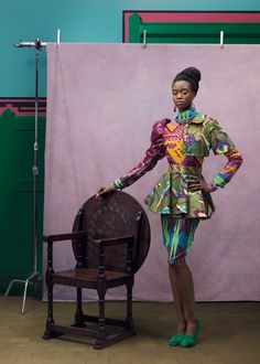 DZine Trip | Celebrating African fashion with textile design by Vlisco | http://dzinetrip.com