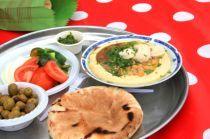Mediterranean Platter with Pita Recipe