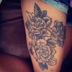 45 Thigh Tattoo Ideas for Girls (9)
