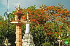Zahlreiche Tempel in Phon Penh