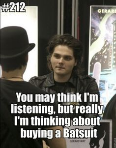 Gee in a batsuit?! Yes!