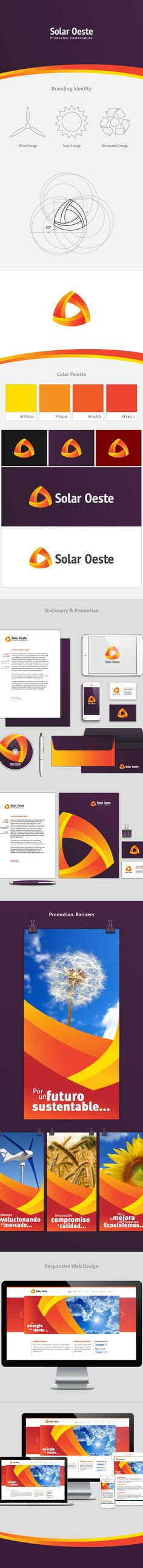 Solar Oeste is a company dedicated to selling sustainable products and promote the use of renewable energies.We work in Branding Identity, Stationery Promotion & Web Development and Responsive Design.