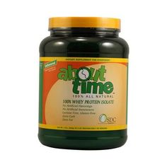 About Time Whey Protein Isolate Unflavored (1x2 Lb)