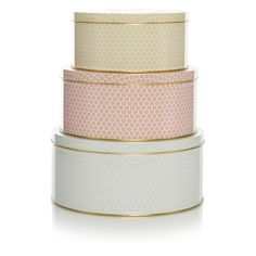 George Home Ditsy Cake Tins - 3 Pack | View all Kitchen & Dining | ASDA direct