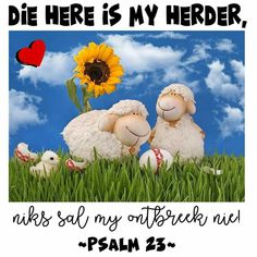 Christian Messages, Psalm 23, Jesus Saves, Afrikaans, Good Morning Quotes, Scriptures, Victorious, Amen, Bible