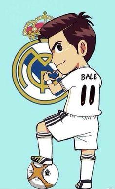 Gareth Bale Real Madrid cartoon