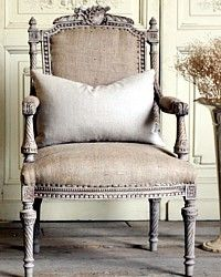 Vintage French Grey Musical Louis XVI Style
