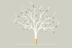 Humo natural  #humo #cigarettes #tree #photoshop #composition #smoke #photography