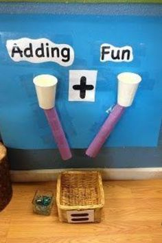 Easy way to introduce addition.