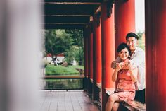 Chinese Garden & Marina Barrage Wedding Photoshoot in Singapore by Feztography on OneThreeOneFour 2