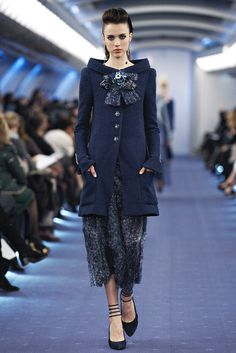 Chanel Spring 2012 Couture Fashion Show - Margaret Qualley (IMG)