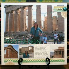 """I really like how """"nonbusy"""" this page is- the emphasis is on the photos!  Two Peas in a Bucket"""