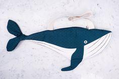 Whale - bag fish - 100% cotton