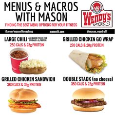 healthy options at wendys