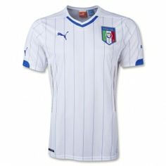 Italy 2014 FIFA World Cup Away Jersey. Designed for the 2014 World Cup. Order at Soccer Box Today in Time to Support Italy this Summer. Cheap Football Shirts, Football Outfits, Soccer Shirts, Football Jerseys, Team Shirts, World Cup Shirts, World Cup Jerseys, Fifa World Cup 2014, Italy National Football Team