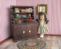 Vintage Doll Furniture   Hall's Lifetime Toys by TheToyBox on Etsy, $50.00
