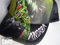 Nayade Caps Gorras personalizadas Custom caps: Geisha Zombie cap