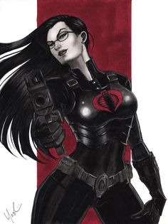 Baroness G.I. Joe by *Protokitty...she works out