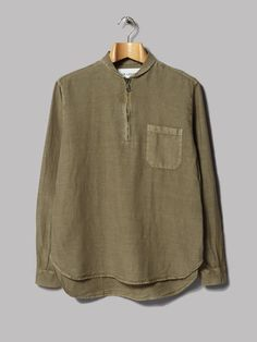 Our Legacy Shawl Zip Shirt (Olivine)