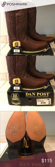 LIKE NEW~ MEN'S DAN POST BOOTS~ SIZE 11.5 VERY NICE DAN POST BOOTS~ SIZE 11.5 Dan Post Shoes Heeled Boots