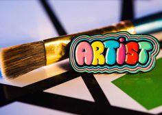 Artist Enamel Pin
