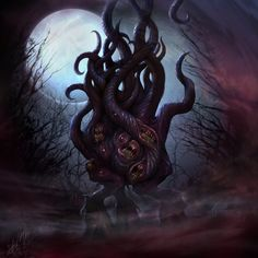 Dark Young of Shub-Niggurath by *dloliver on deviantART