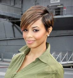 The other trend setter among short hairstyles for black women are the straight short haircuts like bob cuts. Description from pinterest.com. I searched for this on bing.com/images
