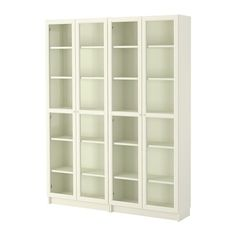 BILLY / OXBERG Bookcase IKEA Adjustable shelves; adapt space between shelves according to your needs.